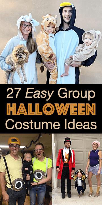 Easy Family Group Halloween Costume Ideas The Diy Lighthouse